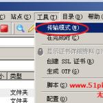 image0037 150x150 无忧主机详解各种FTP工具如何设置二进制传送模式上传数据