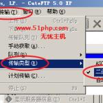image0043 150x150 无忧主机详解各种FTP工具如何设置二进制传送模式上传数据