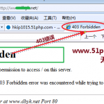 image0013 150x150 网站访问提示403 forbidden该如何解决