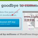 image00312 150x150 无忧主机原创:如何注册Wordpress删除垃圾评论akismet api密钥