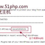 image0061 150x150 无忧主机原创:如何注册Wordpress删除垃圾评论akismet api密钥