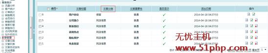 "ec11 Ecshop老版本文章管理的""文章列表""修改成""文章分类的修改方案"