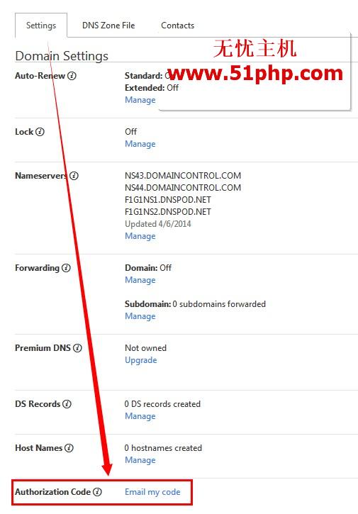 gd3 2014最新godaddy如何转出域名,godaddy获取转移码