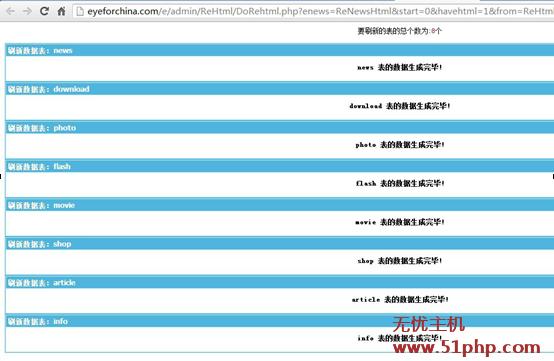"file00021 数据缓存问题导致帝国cms更新数据提示""Internet Server Error """