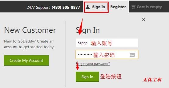 g1 2014年最新godaddy官网如何管理解析自己的域名