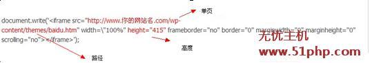 h2 调用Wordpress单页面方法