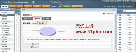 s1 ShopEx访问网站首页(主页)显示空白的完美解决方法