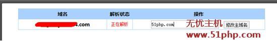 61 无忧主机2014官方最新域名解析教程图文详解