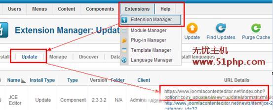 j1 joomla插件更新不成功,手动更新方法