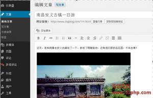 wp 10 27 5 300x193 Wordpress如何在站点文章内添加视频