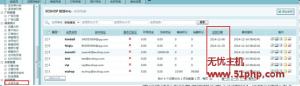 Ecshop程序如何在后台会员列表查看到详细的注册时间
