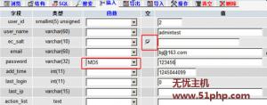 ec 2015 9 18 1 300x118 Ecshop在数据库中修改密码需要注意的事项