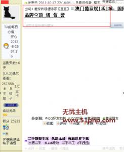dz 2015 11 27 1 245x300 Discuz版主ID被盗,被挂广告解决方法