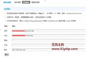 dz 2015 11 4 1 300x195 Discuz默认域名设置失误引起的链接错误问题
