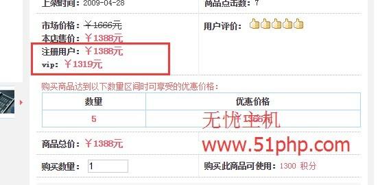 11 ecshop如何删除系统自带的注册用户和VIP用户中的价格呢