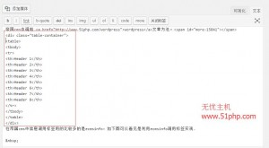 2 300x165 wordpress在发表文章的时候如何添加表格